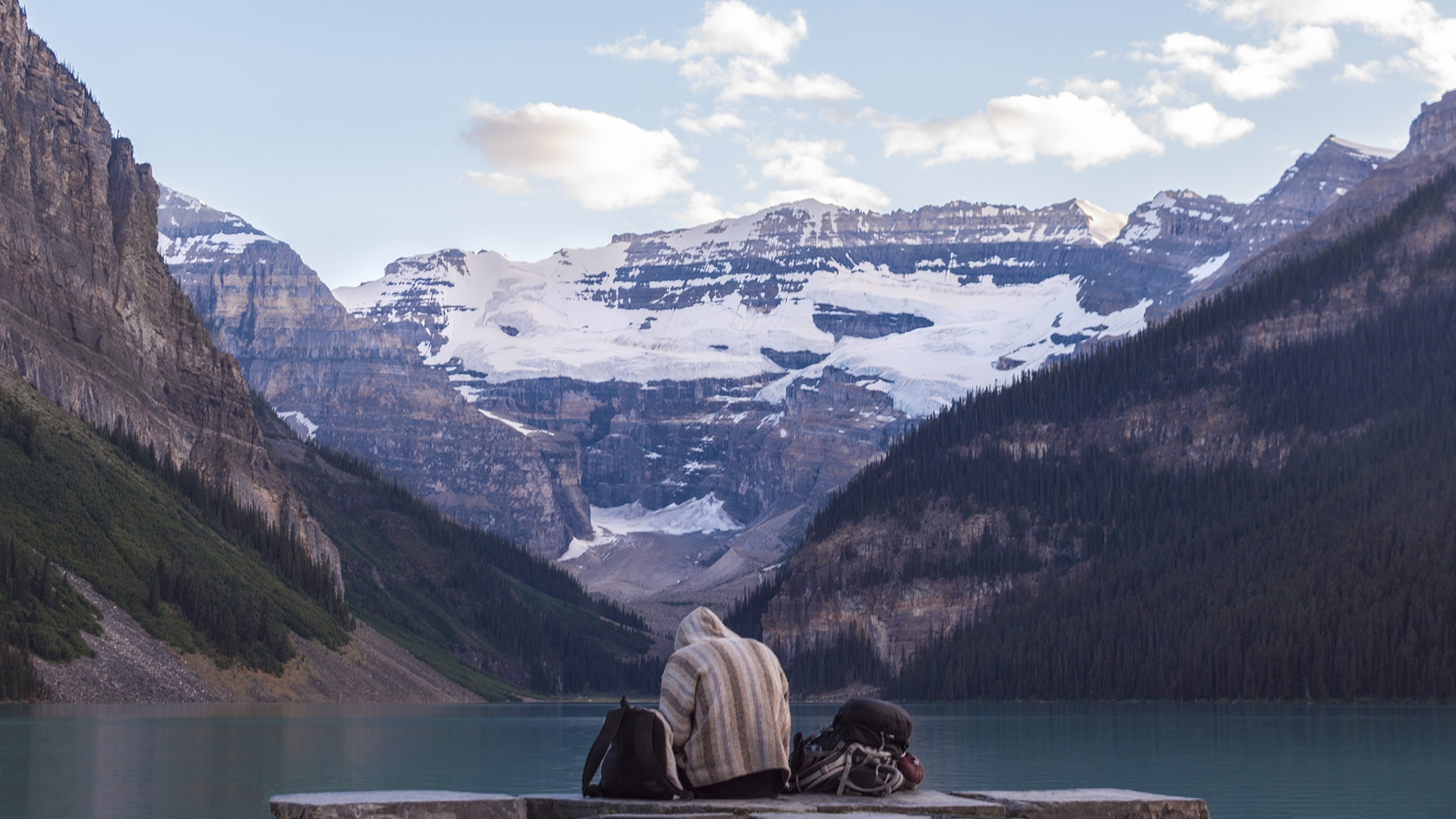 A wanderer in the Rockies